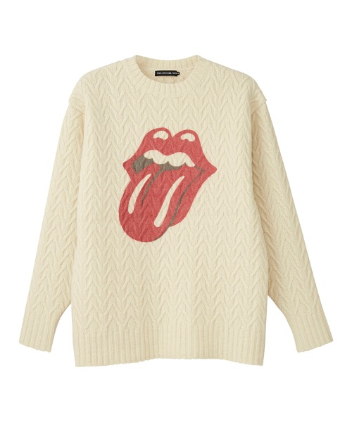THE ROLLING STONES/LIPS AND TONGUE プルオーバー