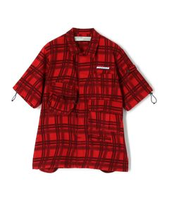 """OFF-WHITE / """"CHECK VOYAGER S/S SHIRT"""" シャツ"""