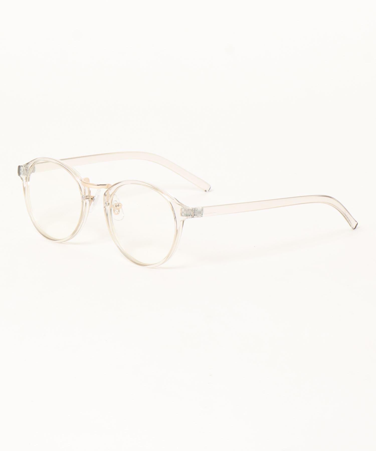 ボストン型伊達眼鏡 H7108 SPI