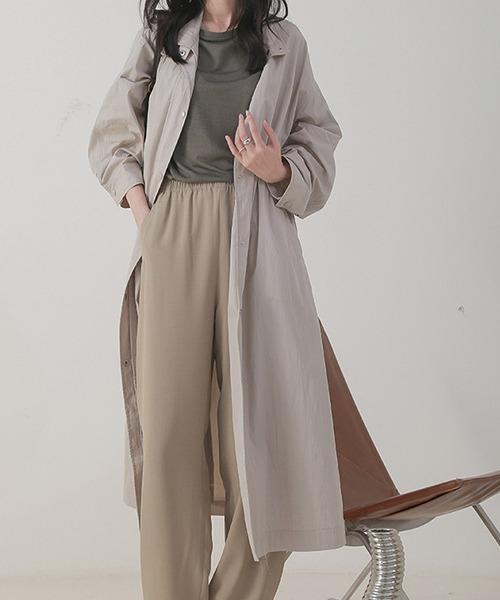 【chuclla】Stand collar spring coat  chw1073