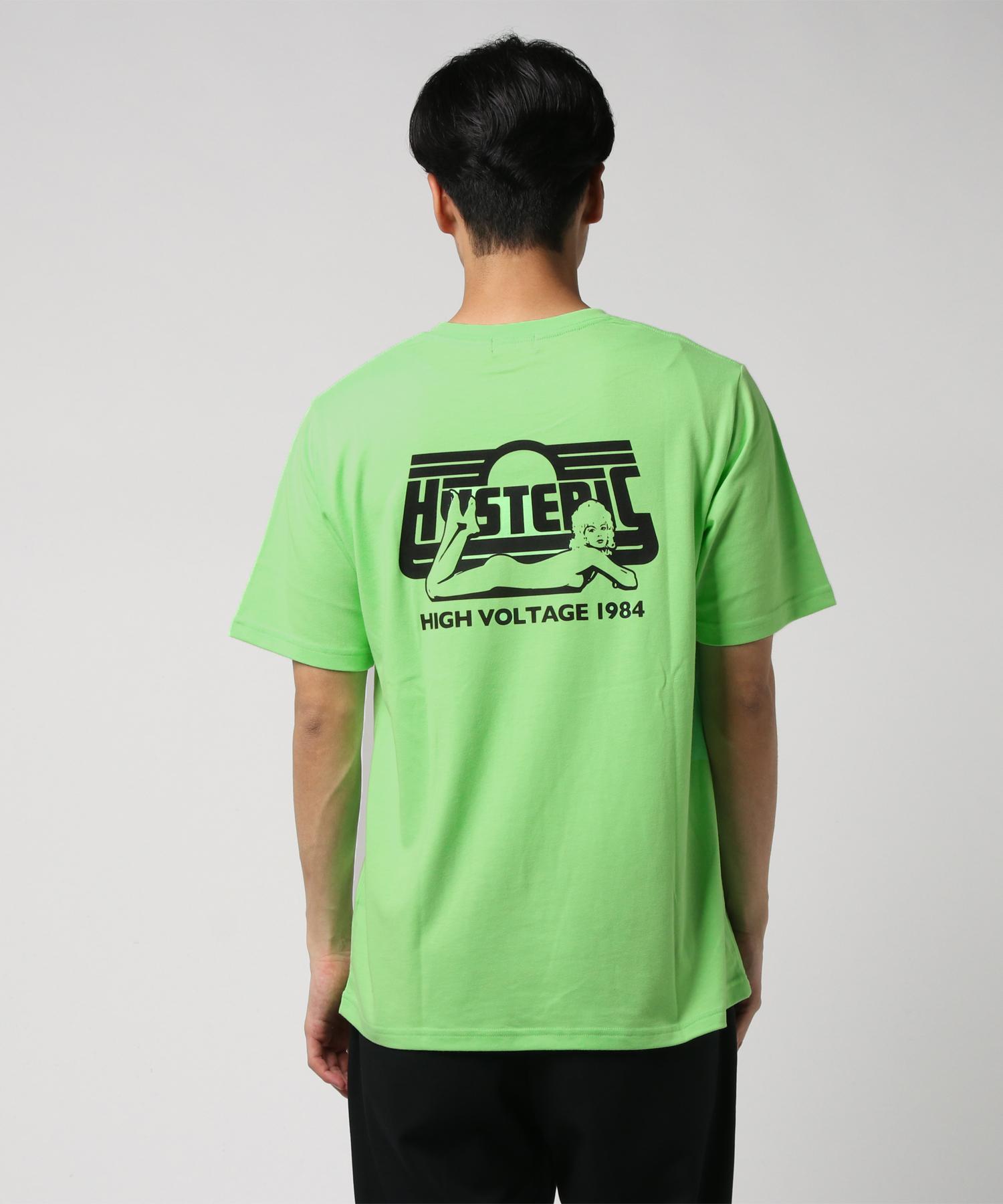 HIGH VOLTAGE 1984 pt Tシャツ