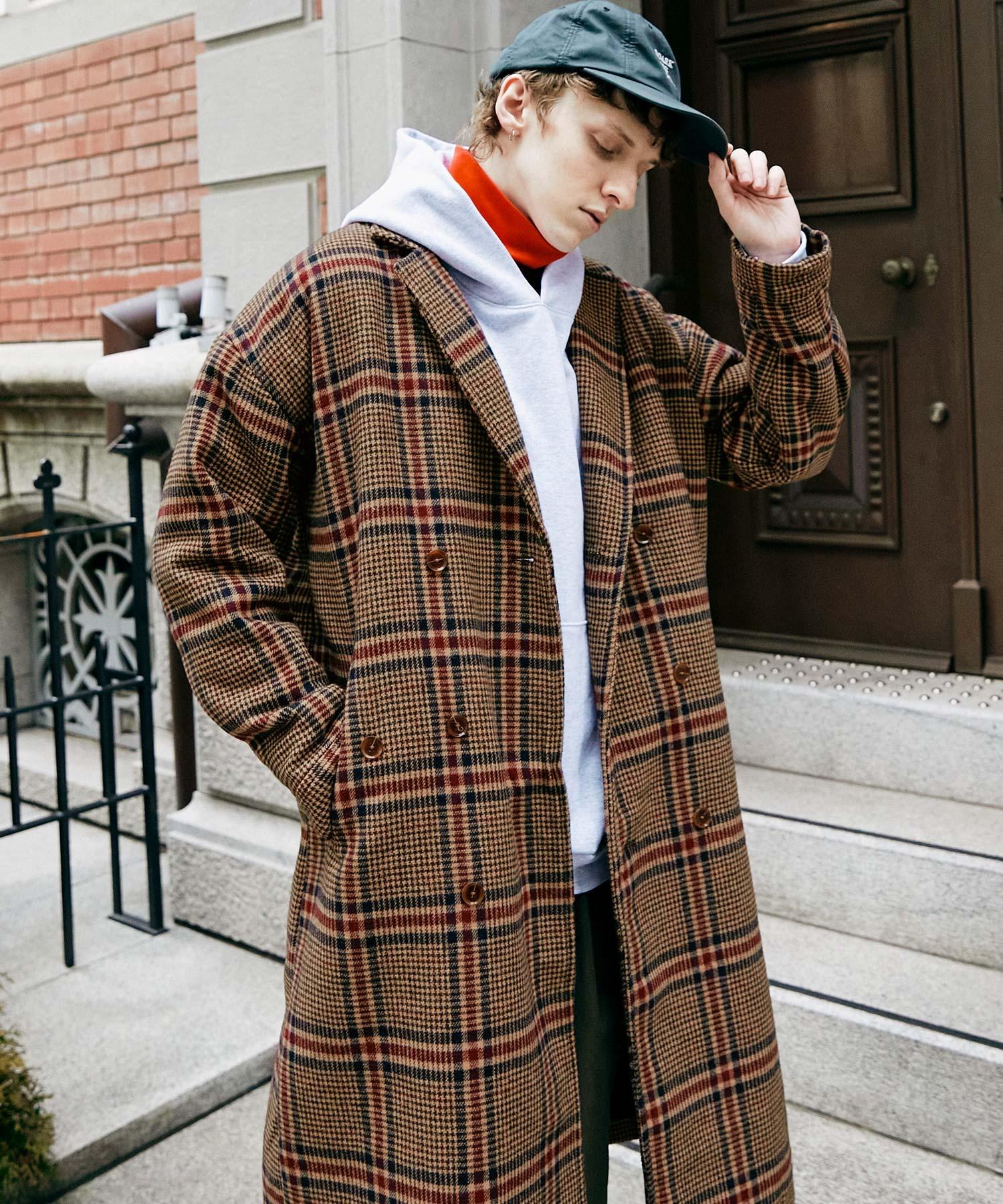 ビーバーメルトンロングチェスターコート2019WINTER(EMMA CLOTHES)