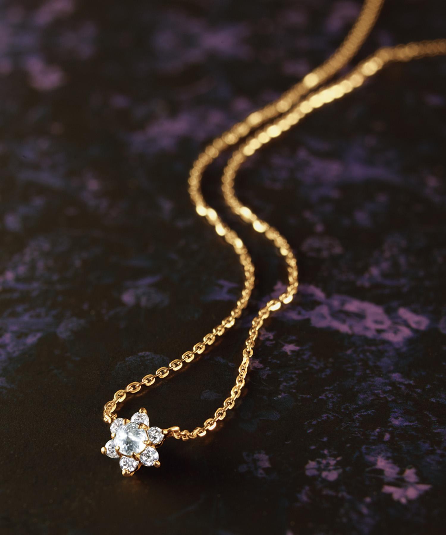 ◆数量限定◆K18ダイヤモンドスペシャルネックレス