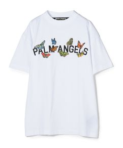 """PALM ANGELS / """"BTRFLY COLLEGE TEE"""" Tシャツ"""
