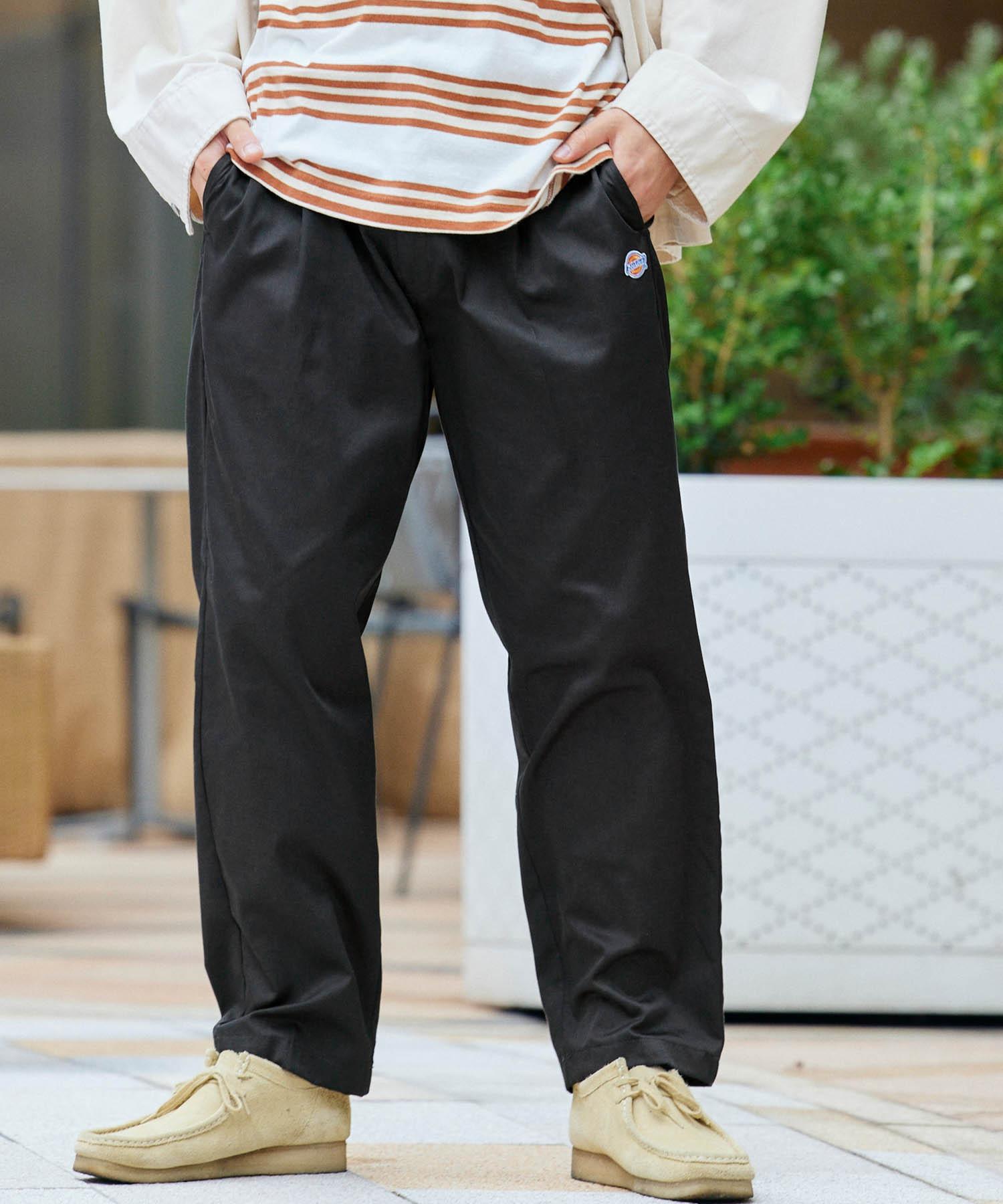 Dickies/ディッキーズ MONO-MART 別注 タックワイドチノパンツ/テーパードワイドパンツ