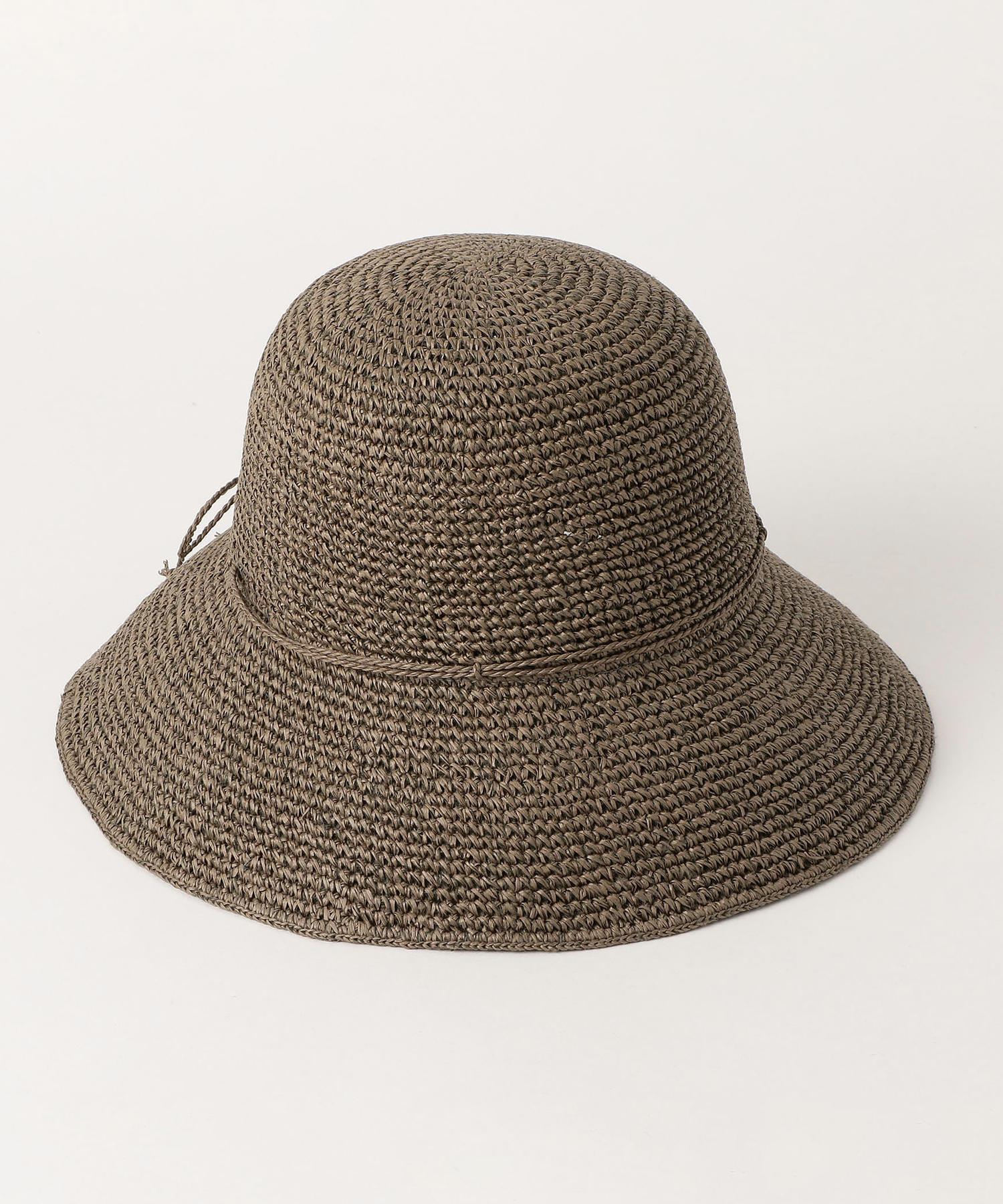 ウォッシャブル 洗える たためる リゾート帽子 グリーンレーベルリラクシング