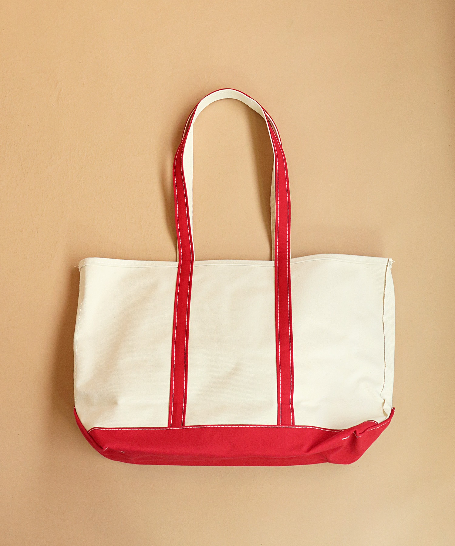 【L.L.Bean/エルエルビーン】CANVAS TOTE BAG LARGE Handles/Regular
