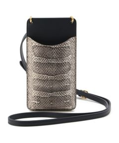 """ANYA HINDMARCH / """"Phone Pouch on Strap"""" スマートフォンポーチ"""