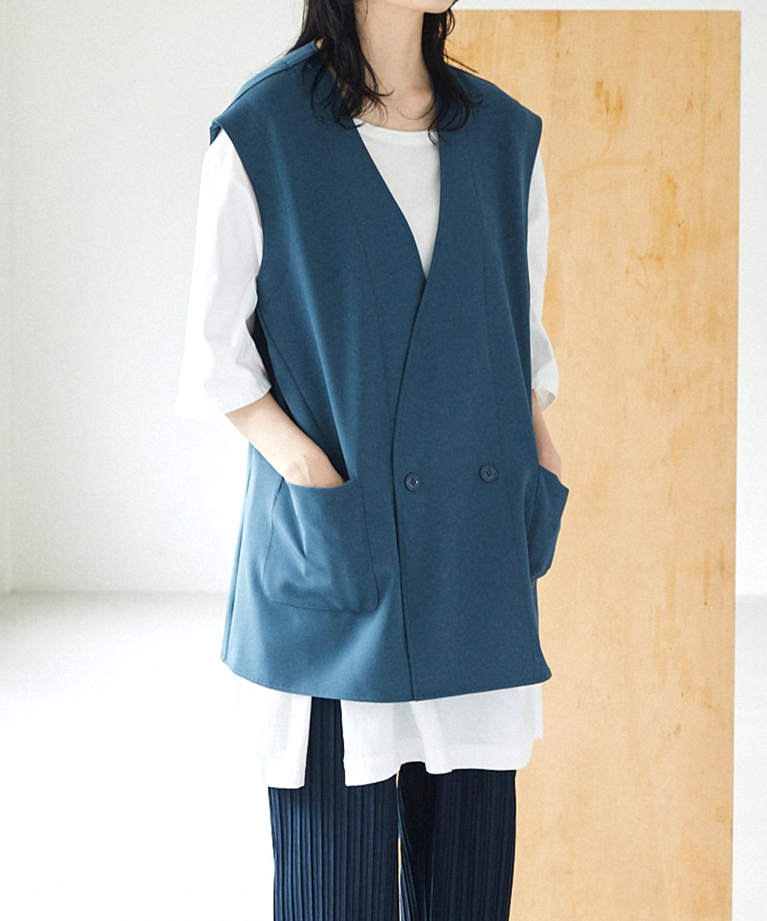 ルーズシルエットオーバーサイズベスト EMMA CLOTHES 2021 SUMMER