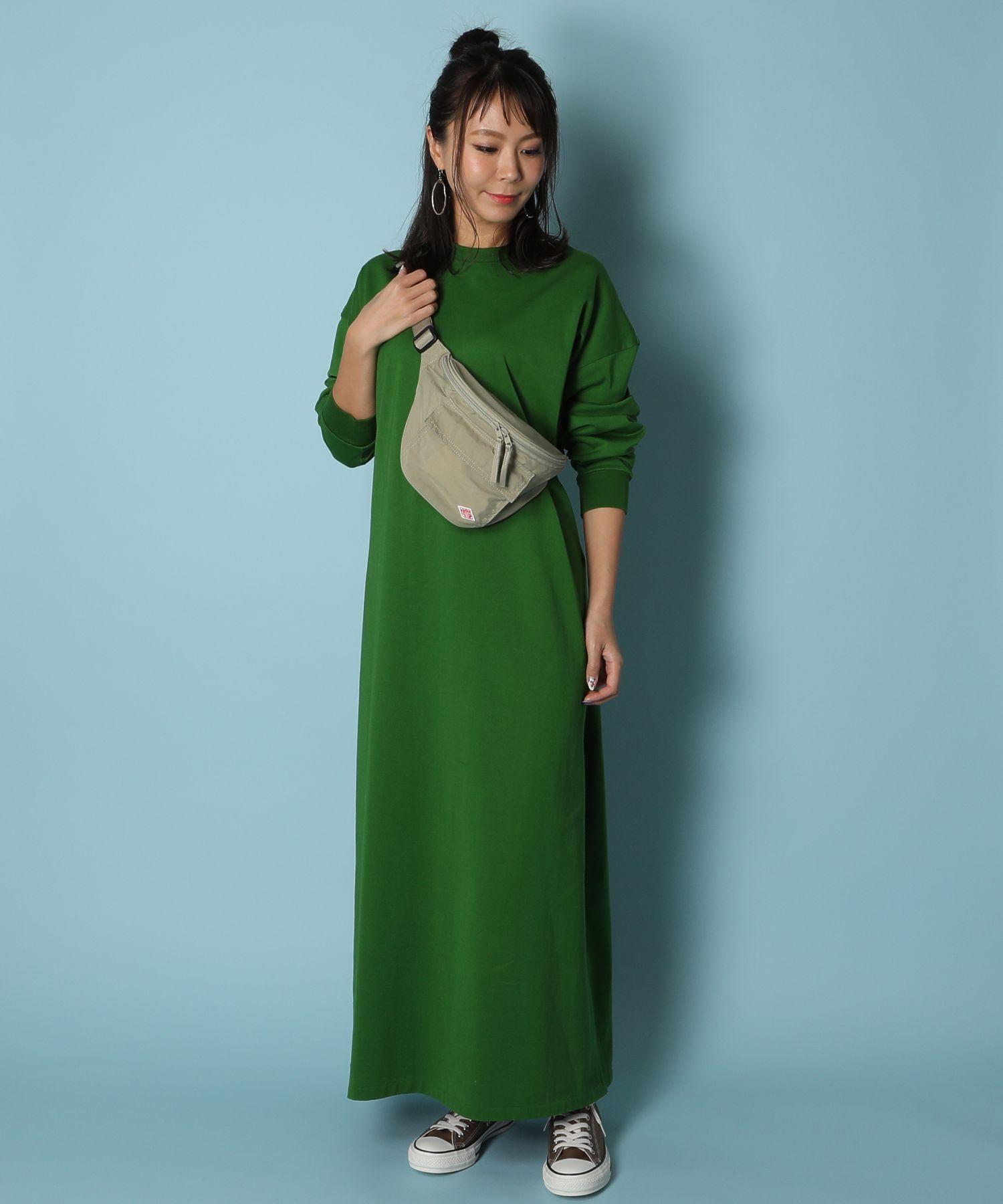 メゾンエウレカ MAISON EUREKA / ワンピース Giza Cotton Maxi L/S