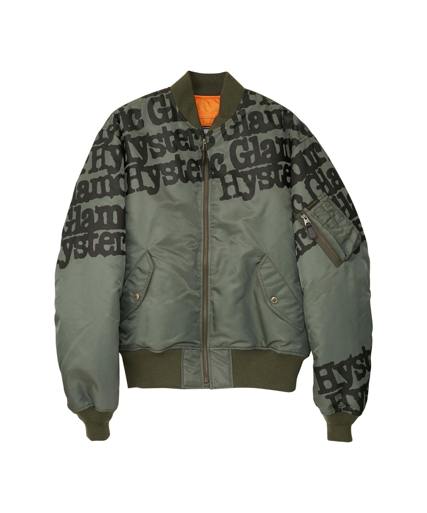 TYPE LOGO MA-1ジャケット