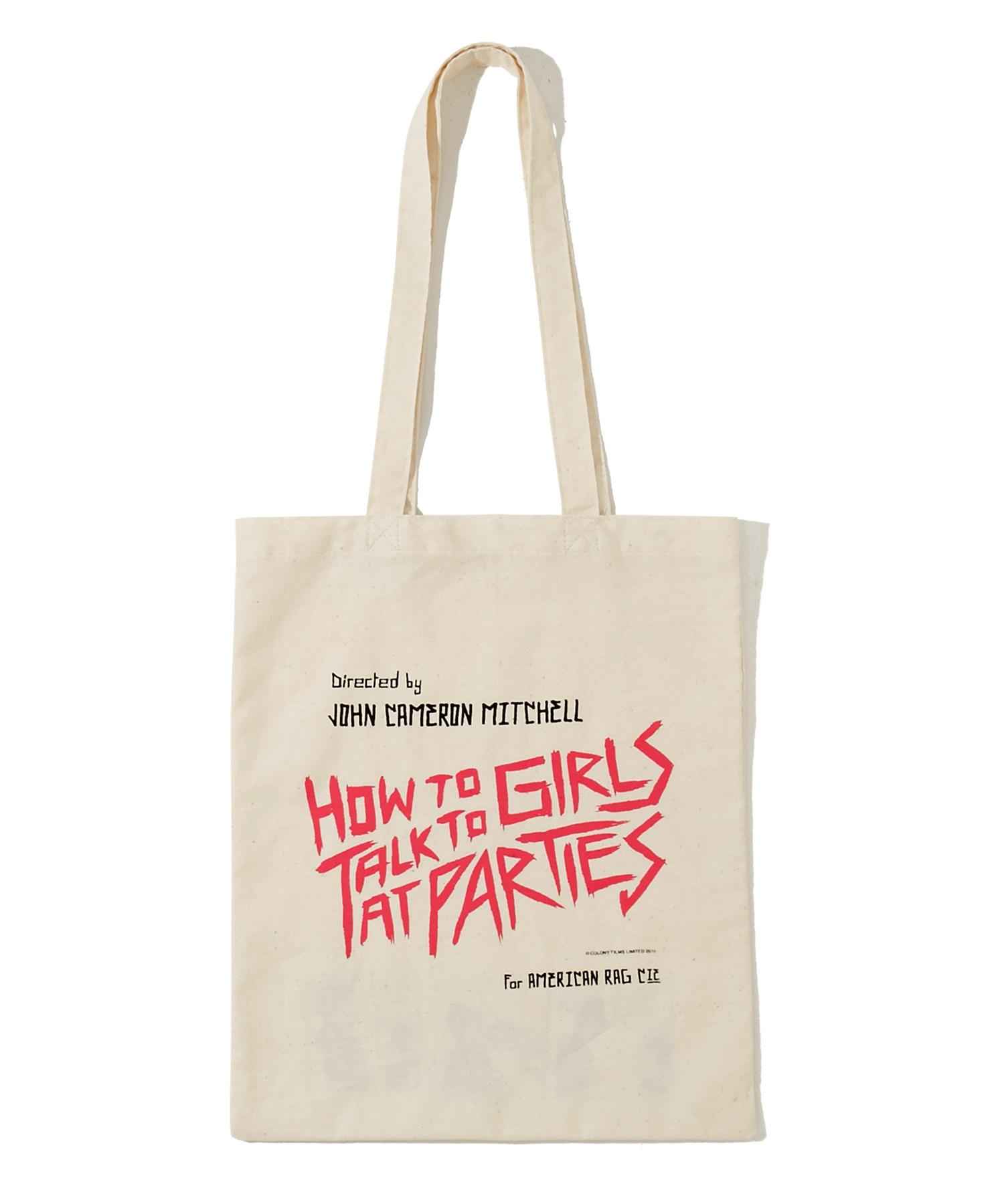 映画【パーティで女の子に話しかけるには】トートバッグ