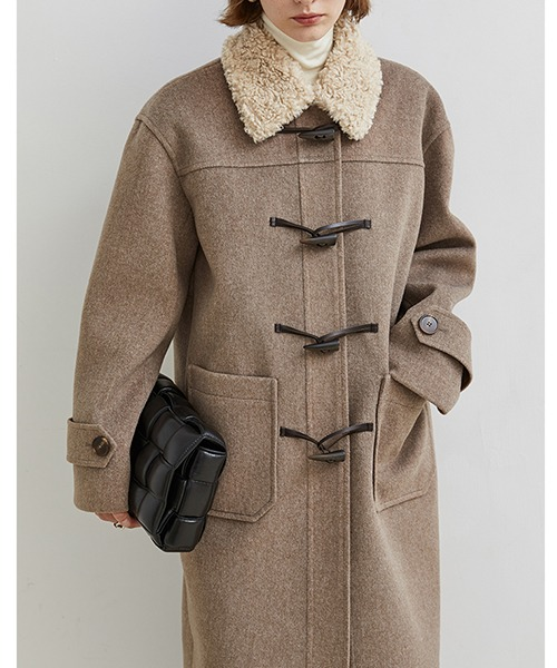 【Fano Studios】【2021AW】Boa collar duffle coat FD20W007