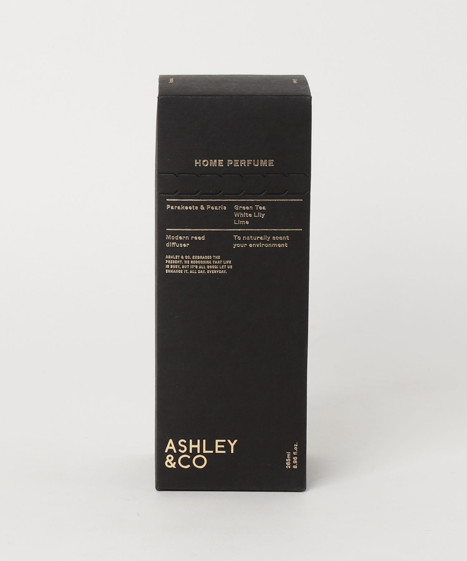 ASHLEY & CO ディフューザー Parakeets & Pearls 265ml