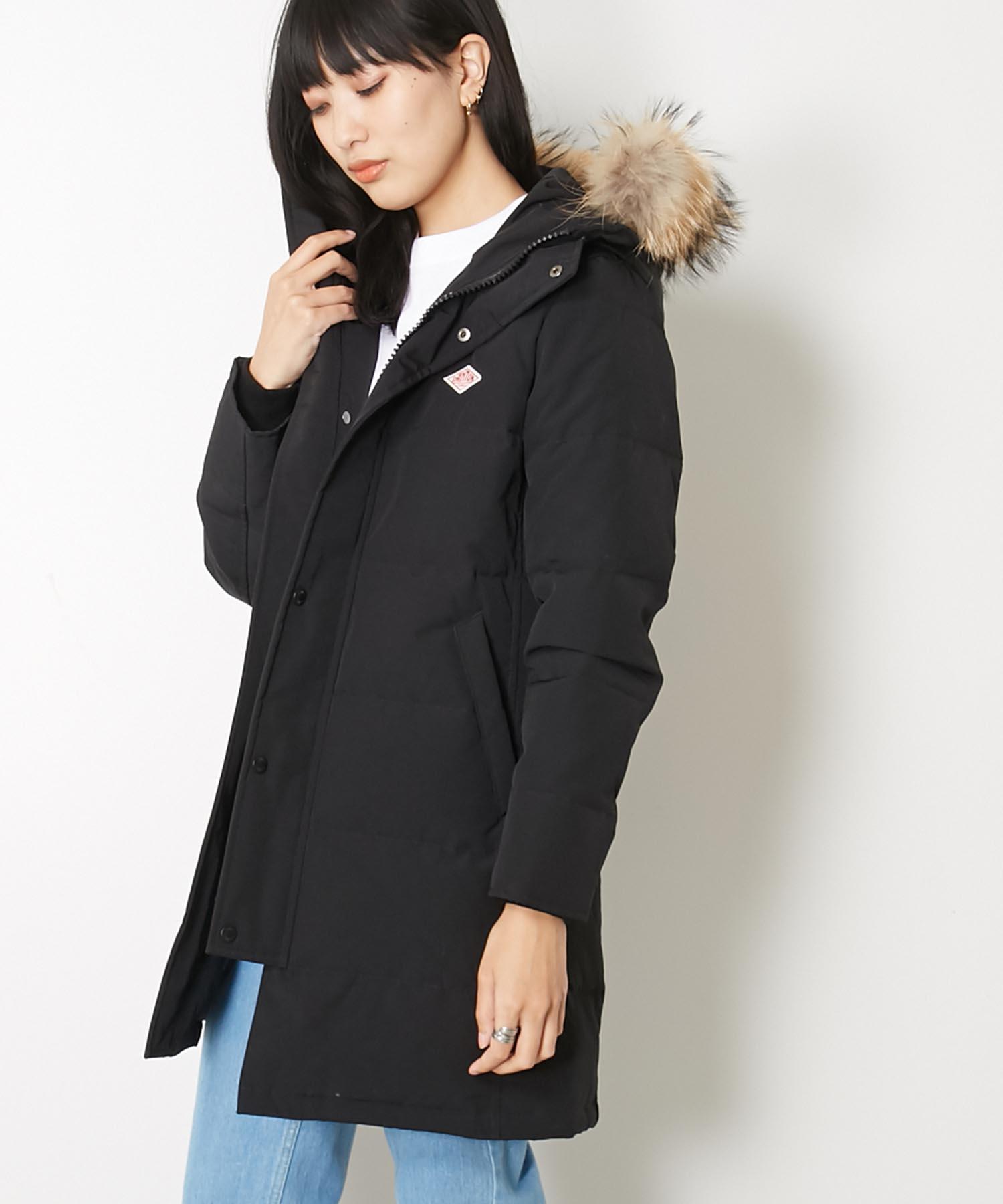 ダントン DANTON / ファーカラーフードダウンコート Fur Collar Hooded Down Coat