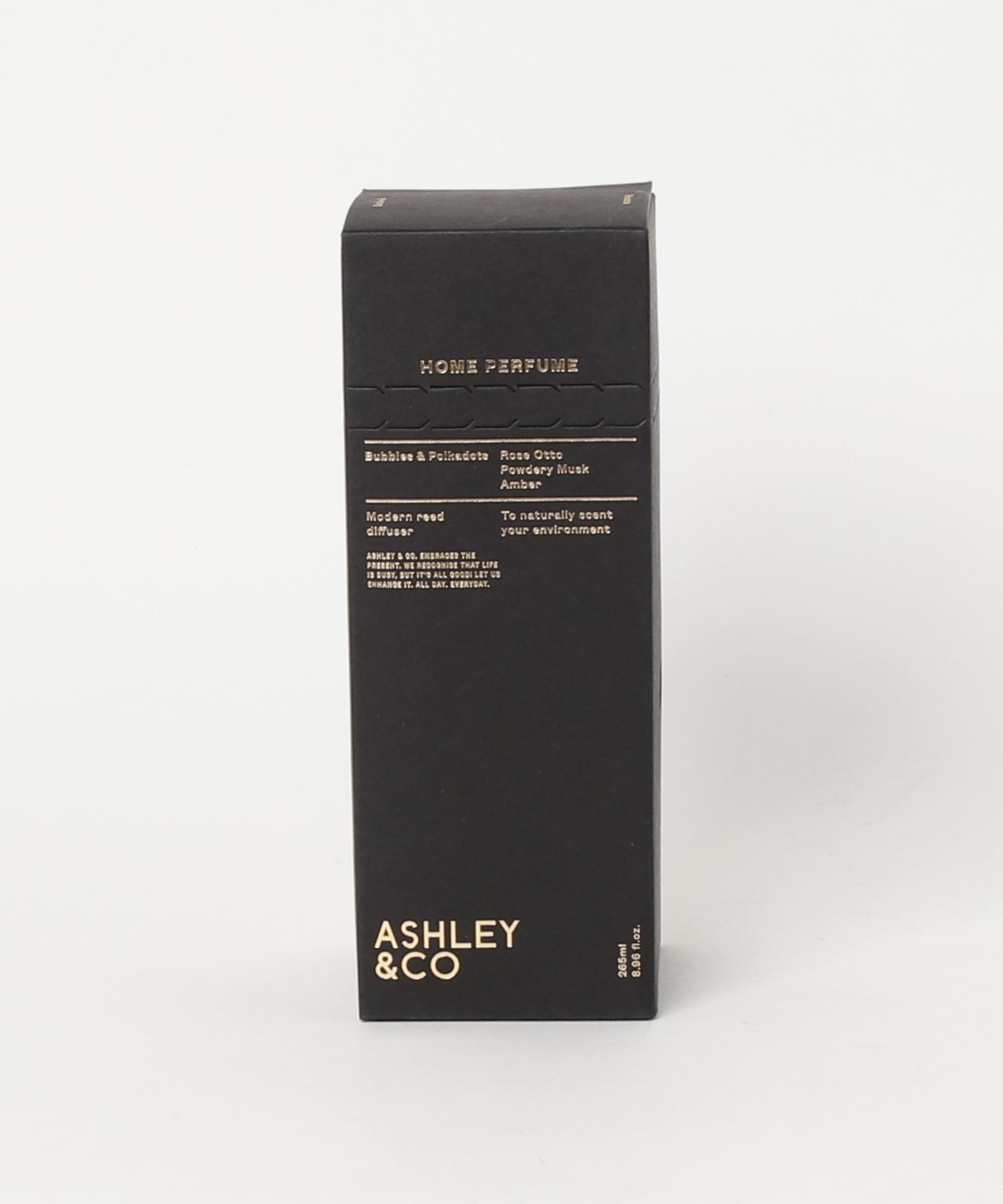 ASHLEY & CO ディフューザー Bubbles & Polkadots 265ml