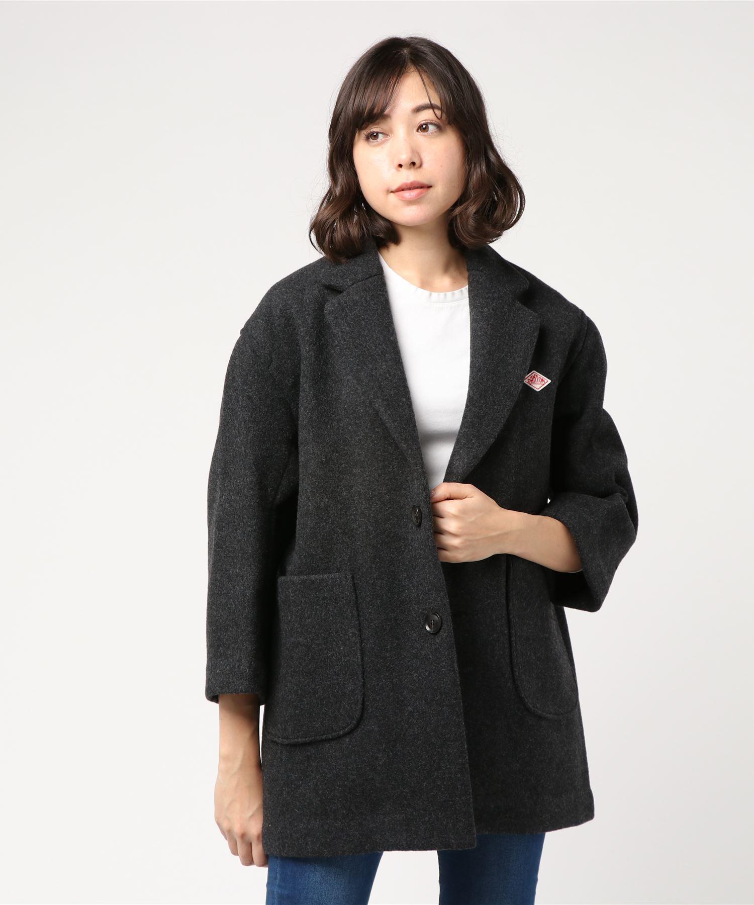 ダントン DANTON / ウールモッサチェスターコート Wool Mossar Chester Coat