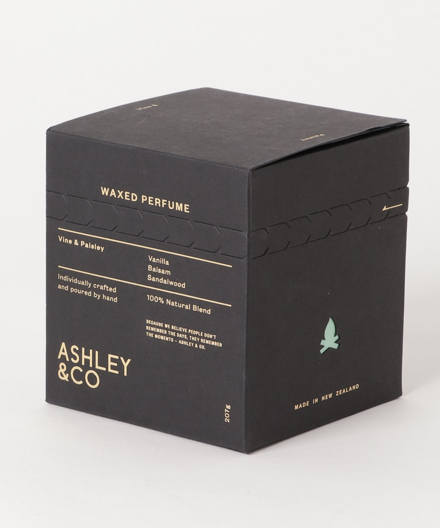 ASHLEY & CO / アロマキャンドル Vine & Paisley 207g