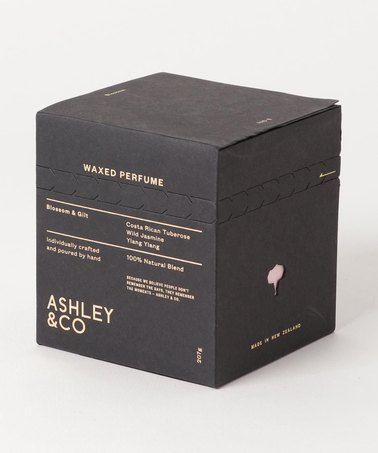ASHLEY & CO / アロマキャンドル Blossom & Gilt 207g
