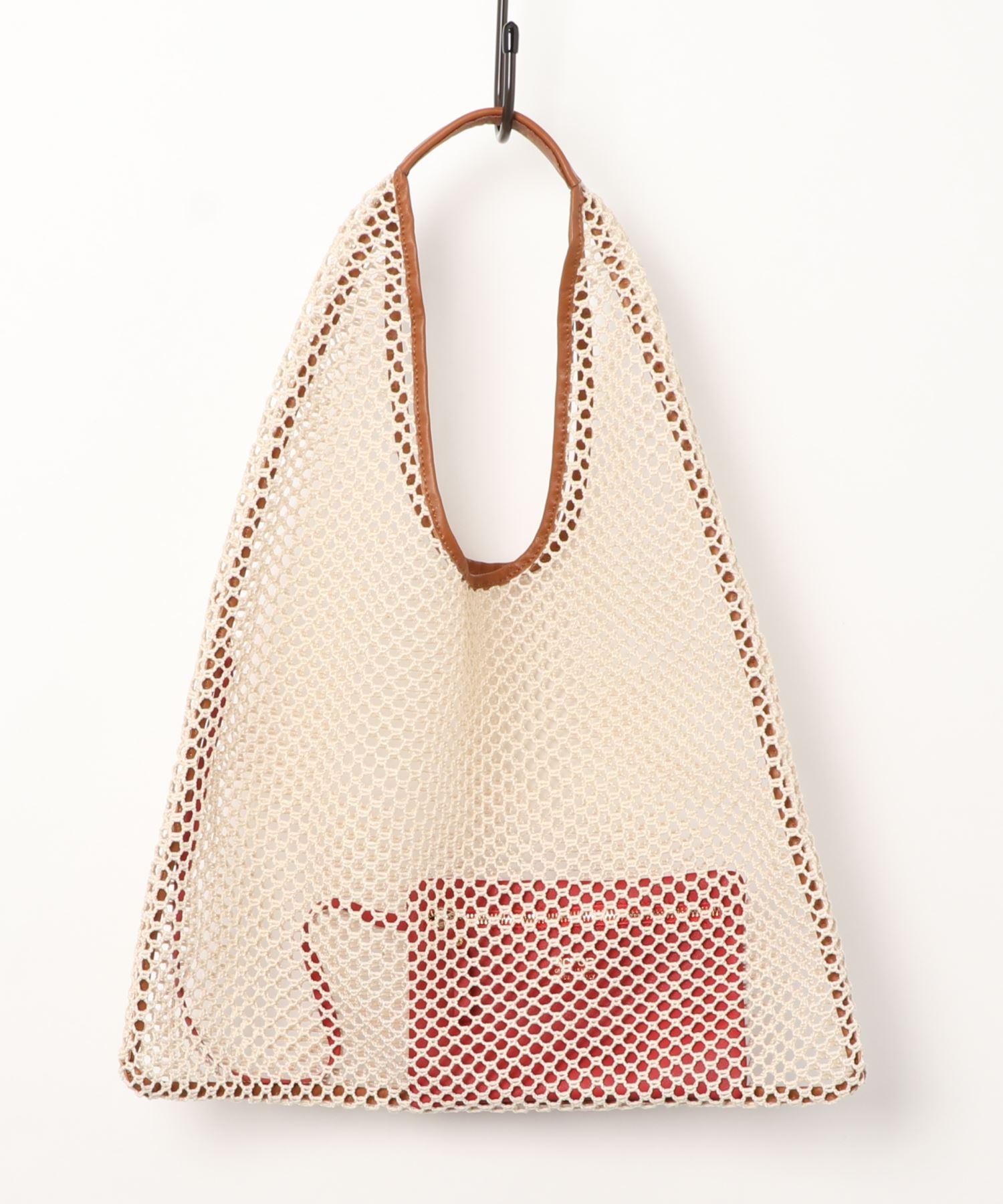【別注カラー】アーロン ARRON / メッシュ三角バッグ