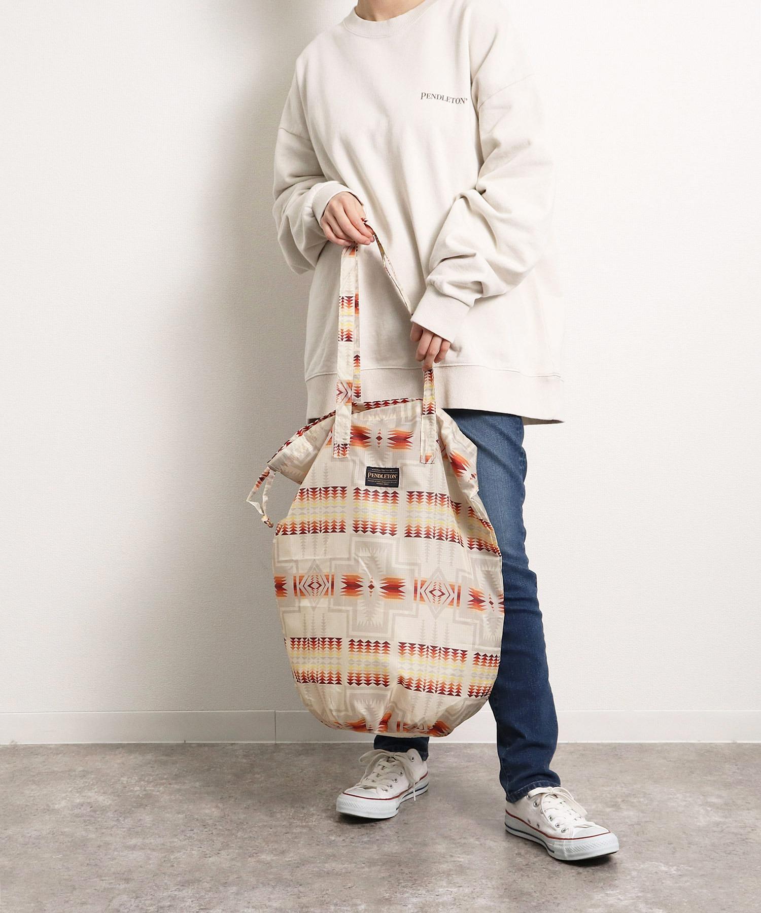 【PENDLETON × YURIE  / ペンドルトン × ユリエ 】DRAW UTILTY BAG ドロー ユーティリティーバッグ エコバッグ