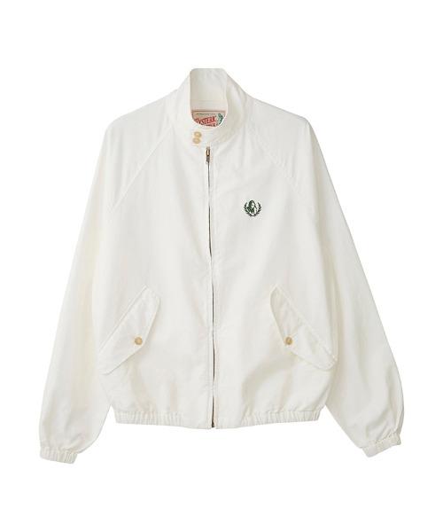 LAUREL WOMAN刺繍 ハリントンジャケット
