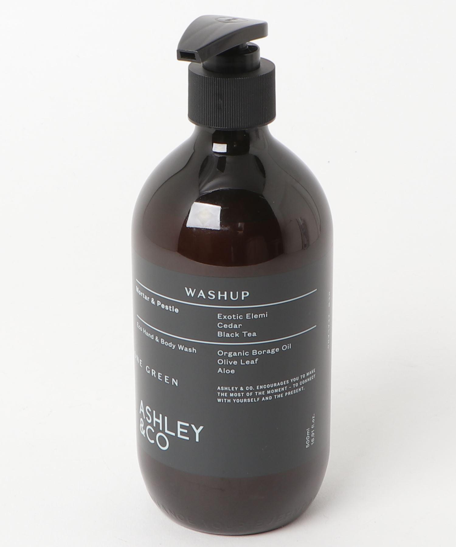 ASHLEY & CO ハンド&ボディウォッシュ ゴーングリーン Mortar & Pestie 500ml