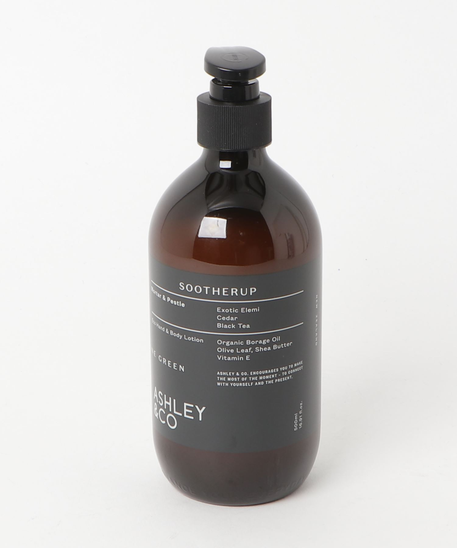 ASHLEY & CO ハンド&ボディローション ゴーングリーン Mortar & Pestie 500ml