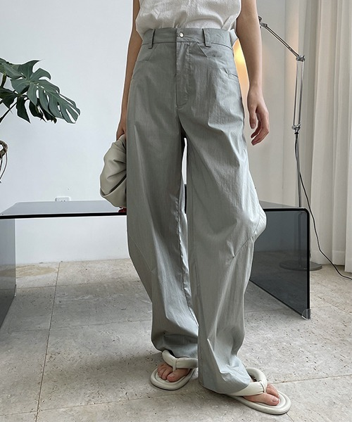 【chuclla】【2021/SS】Cocoon silhouette pants chw1557