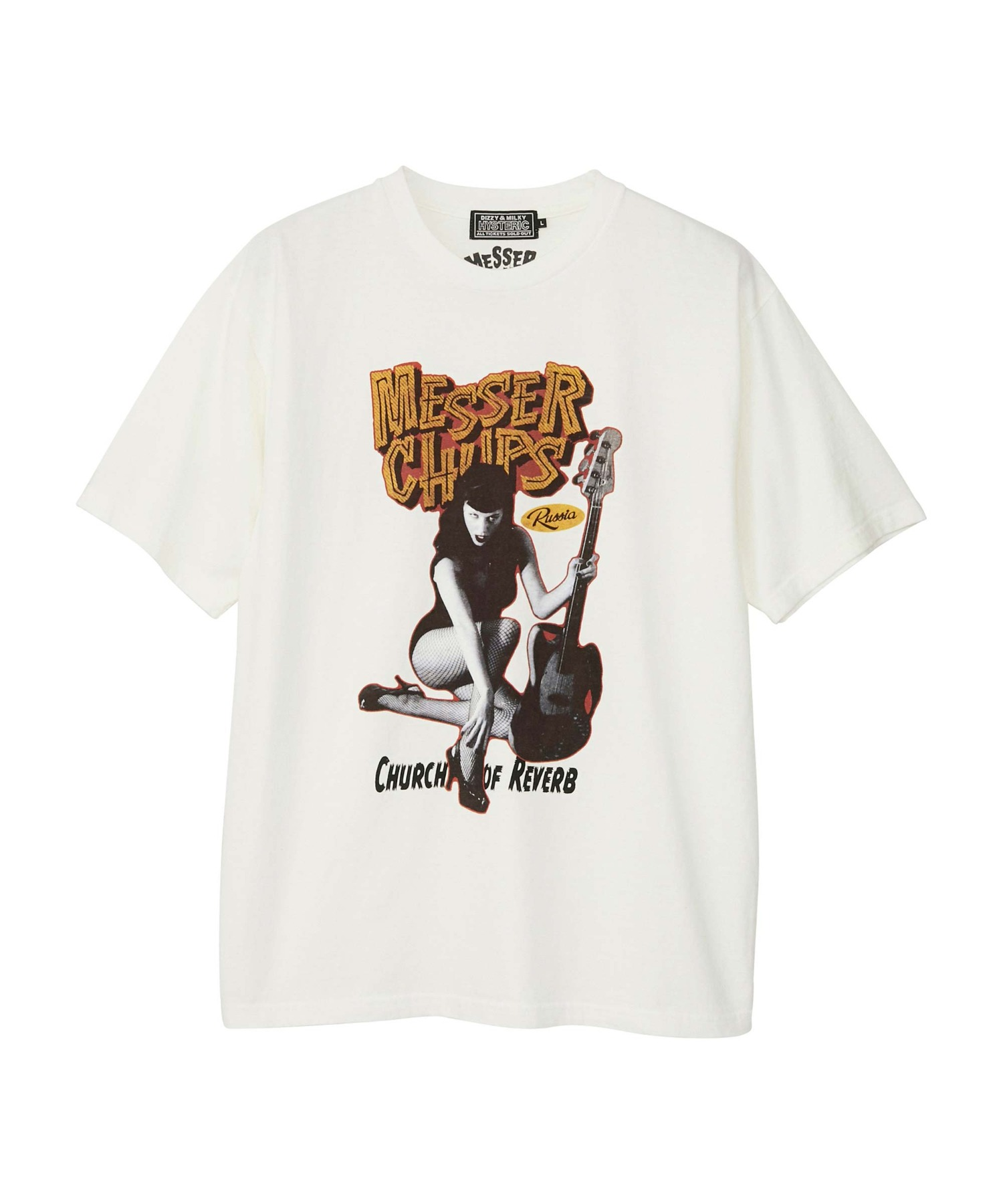 MESSER CHUPS/MC FROM RUSSIA Tシャツ