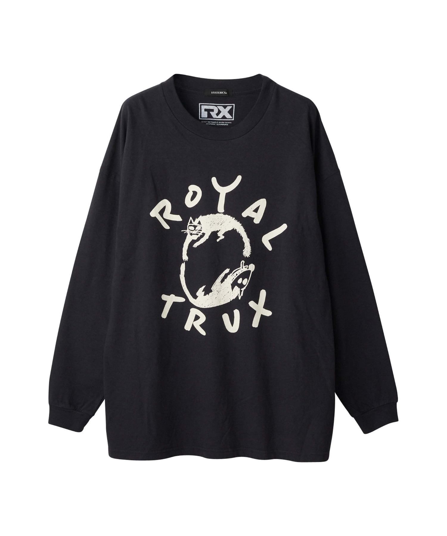 ROYAL TRUX/CATS AND DOGS オーバーサイズTシャツ