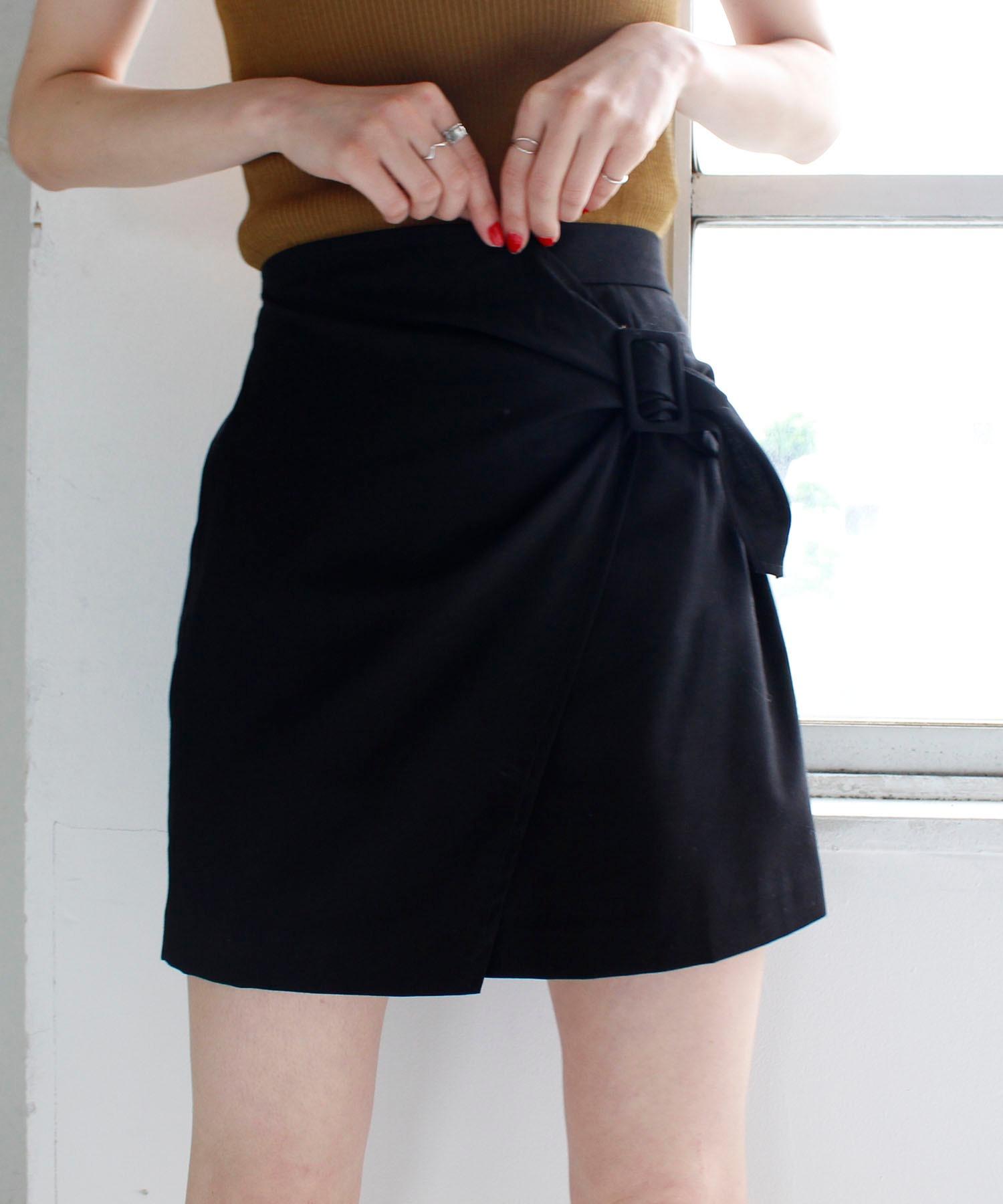 ラップベルトスカート