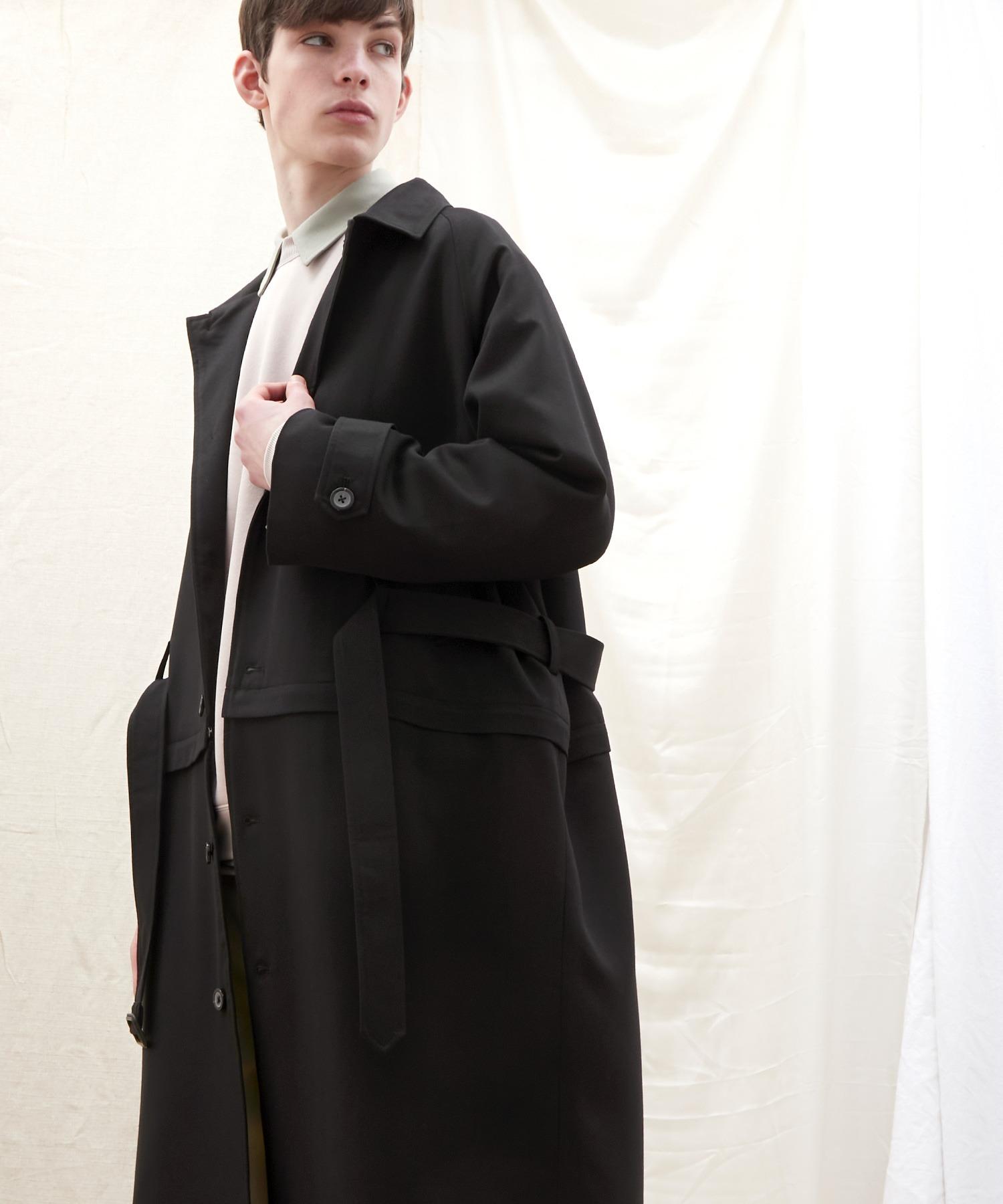 2WAY TRストレッチオーバーサイズ ラグラン スプリングステンカラートレンチコート【EMMA CLOTHES/エマクローズ】 2021 S/S