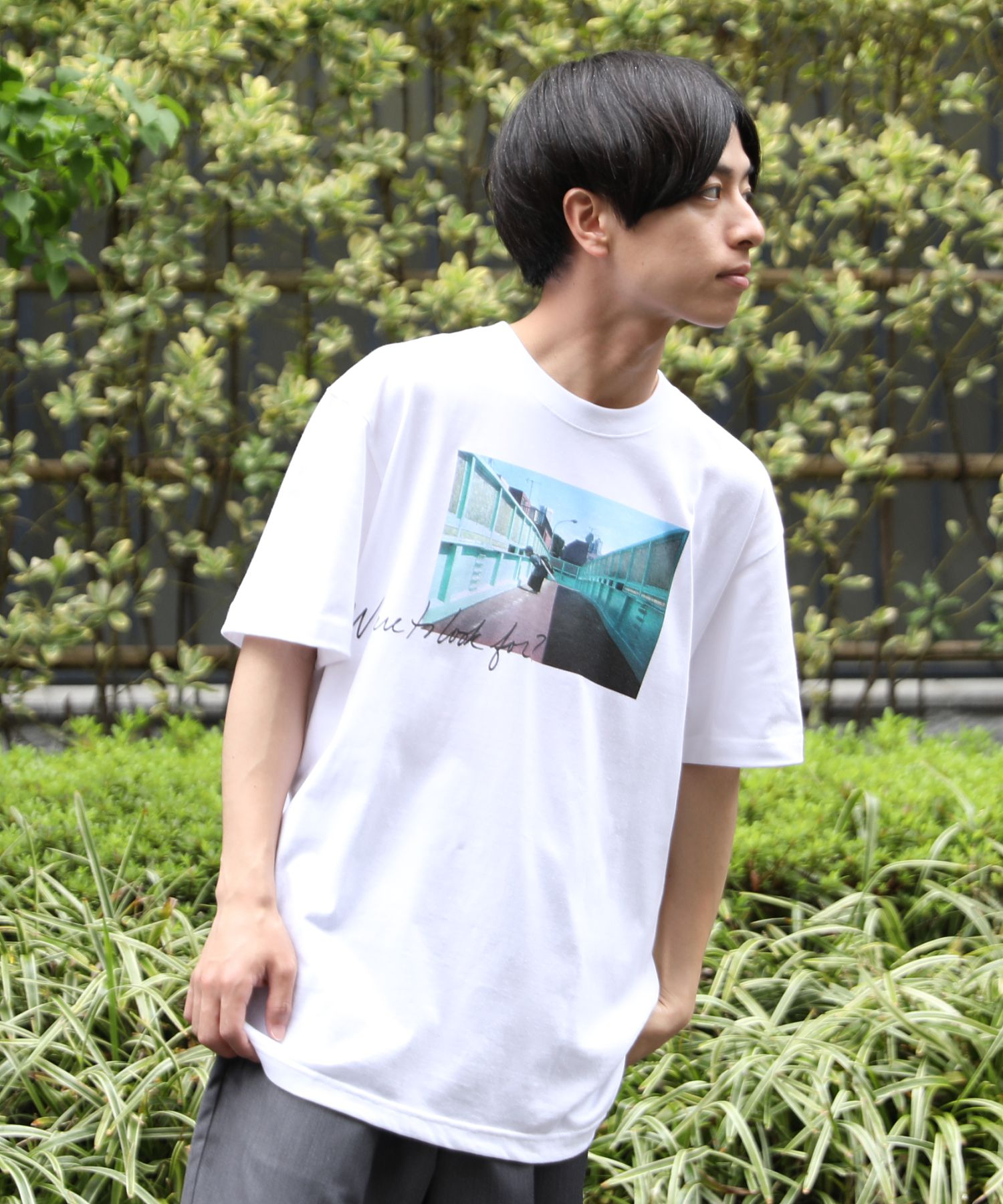AMERICAN RAG CIE × Fukiharu PHOTO TEE no.4 / アメリカンラグシー×吹春友介 フォトTシャツ
