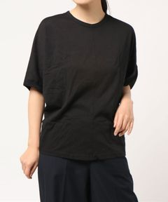 【Clu】SILK CHIFFON BACK OVERSIZED TOP