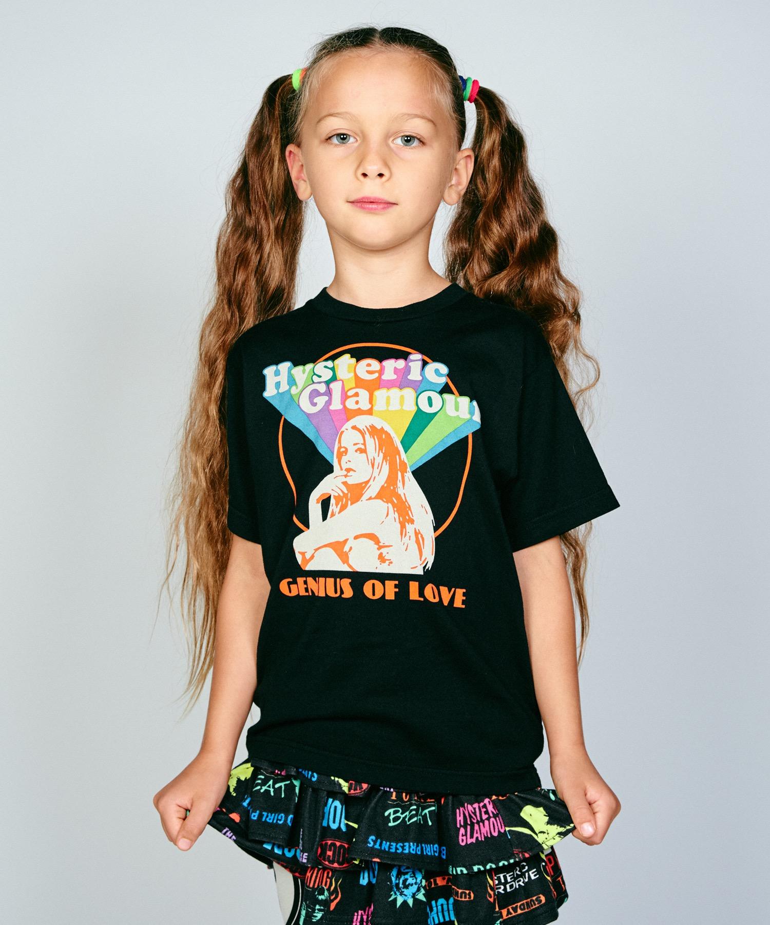 SHE'S A RAINBOW pt Tシャツ【XS/S/M】