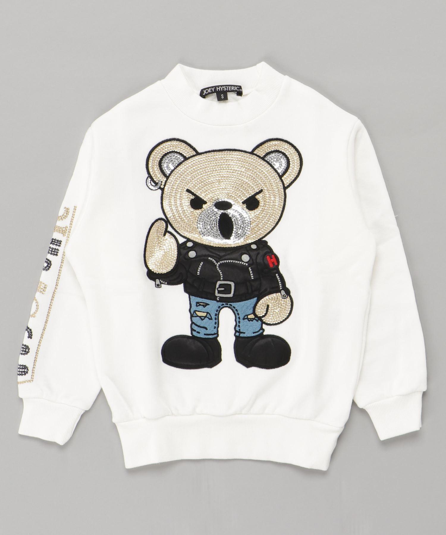 ROCKERS BEAR刺繍 スウェット【XS/S/M】