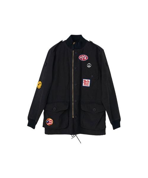 アーミーリメイクフィールドジャケット