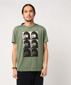THE ROLLING STONES/SIX KEITH プリント Tシャツ