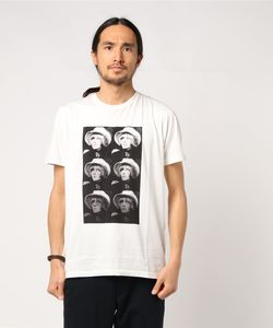 THE ROLLING STONES/SIX BRIAN プリント Tシャツ