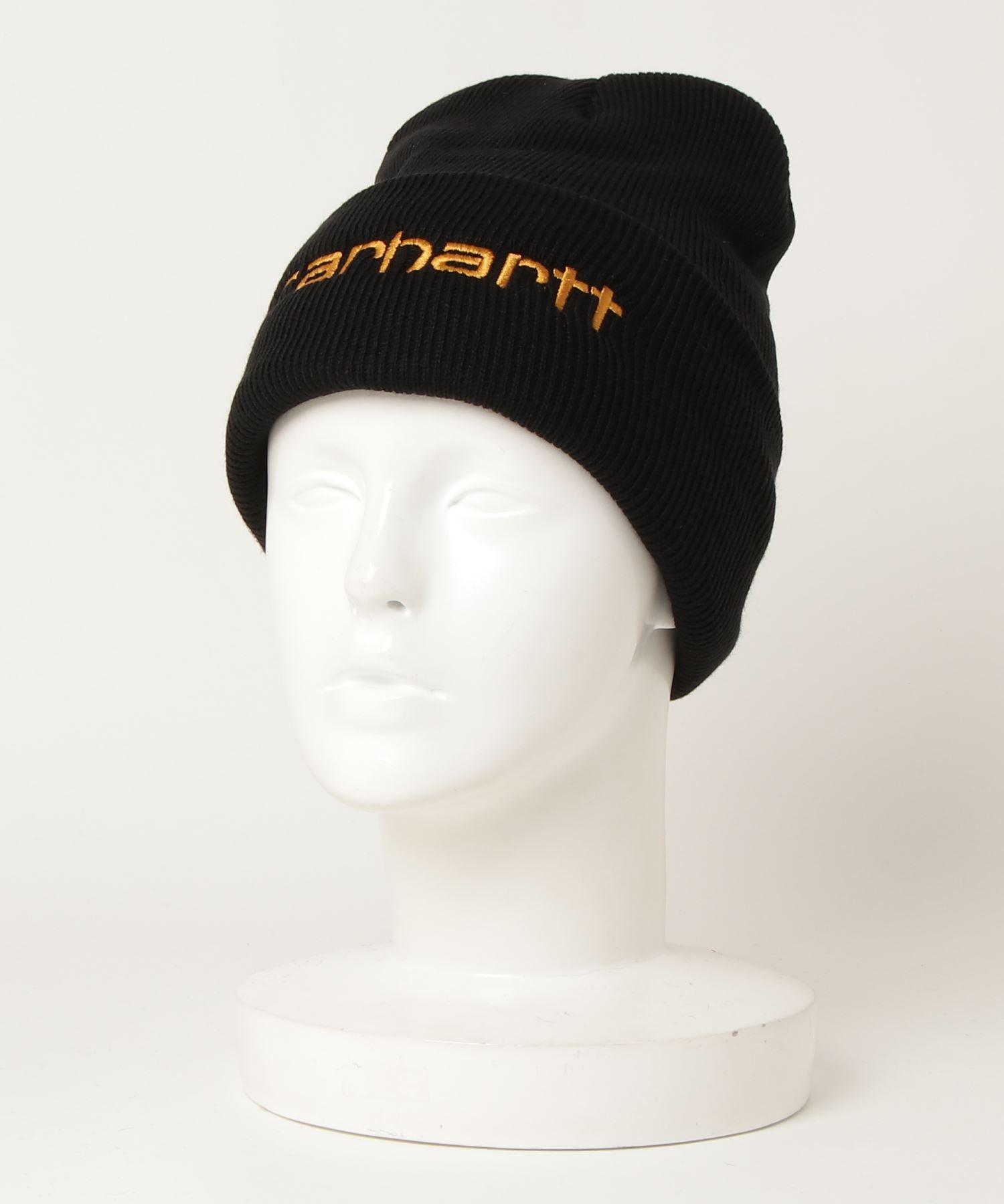 【 carhartt / カーハート 】アクリル 刺繍 ニットワッチ ビーニー ニットキャップ ニット帽 carhartt 104068 NSZ