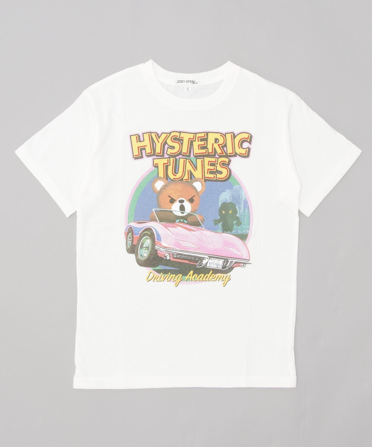 HYSTERIC TUNES pt Tシャツ【L】