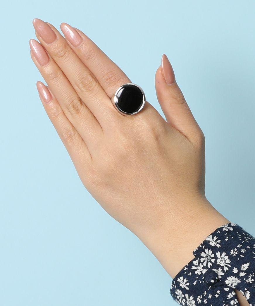 JAMIRAY ジャミレイ / ラウンドストーンリング Round Stone Ring
