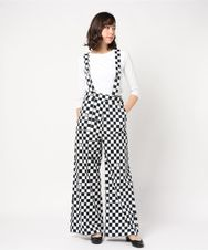 GV1831016 CHCKERD PATTERN COTTON TROUSERS