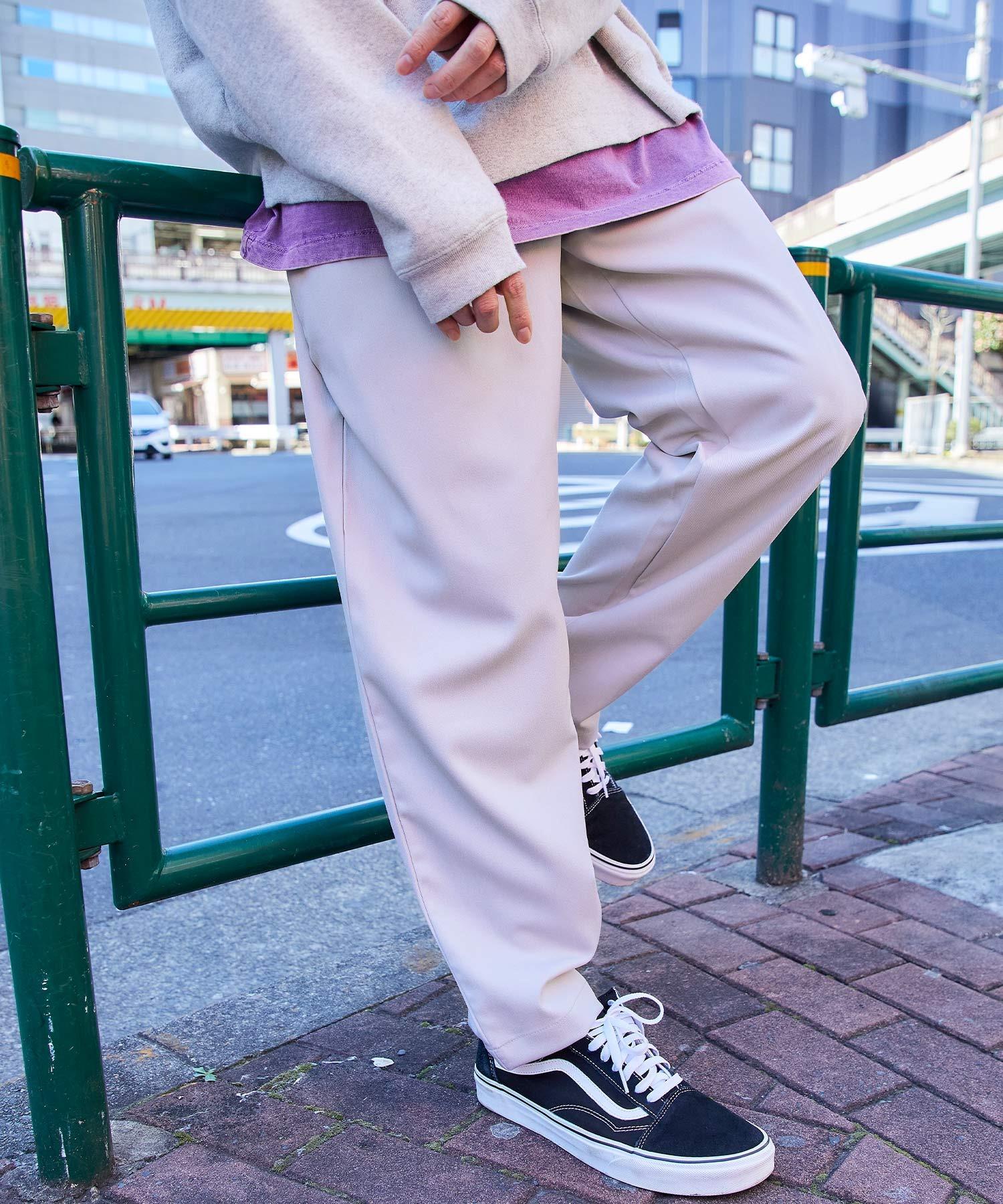 バルーンビッグシルエット シェフパンツ/スケーターパンツ ワイドデニムパンツ アソートfabric/ Chef's Pants -2021SPRING&SUMMER-