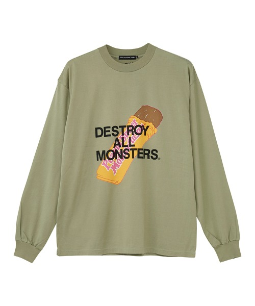DESTROY ALL MONSTERS/PBMF Tシャツ