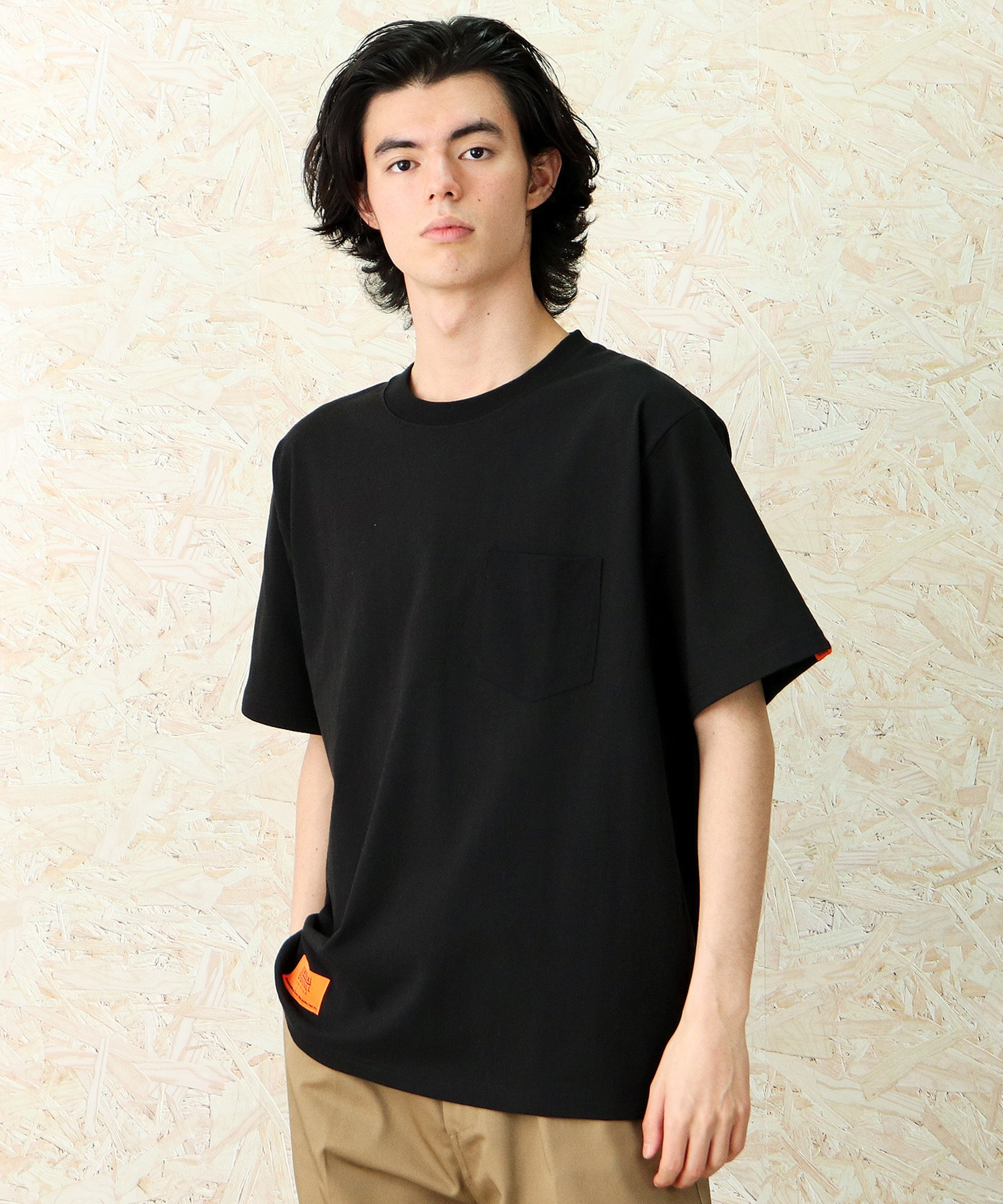 """【UNIVERSAL OVERALL / ユニバーサルオーバーオール】""""EXCLUSIVE/エクスクルーシブ"""" POCKET TEE ポケットTシャツ"""
