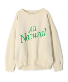 """INSCRIRE / """"ALL NATURAL"""" スウェット"""