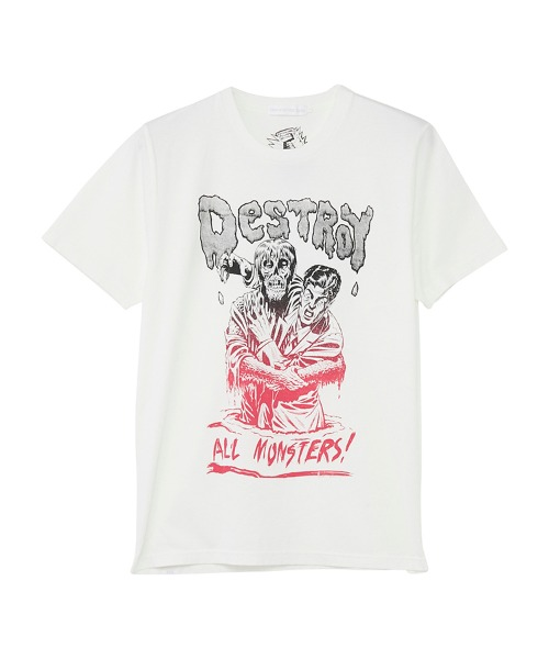 DESTROY ALL MONSTERS/ZOMBIE ATTACK Tシャツ