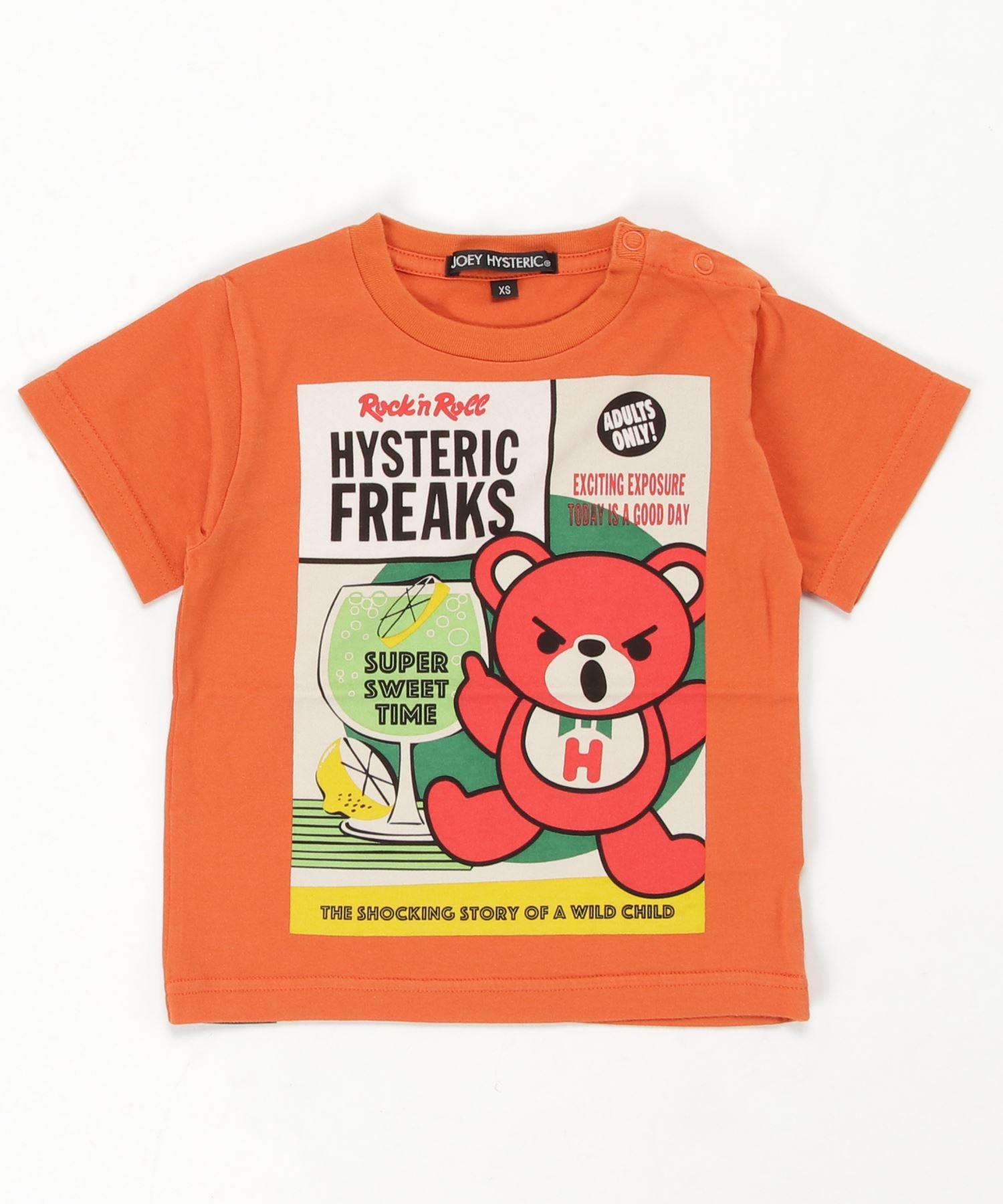 HYSTERIC FREAKS pt Tシャツ【XS/S/M】